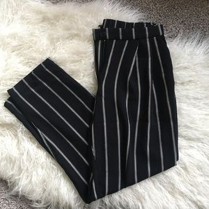 High-Waisted Cropped H&M Dress Pants